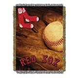 "Boston Red Sox MLB ""Vintage"" Woven Tapestry Throw"