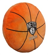 Brooklyn Nets NBA Basketball Shaped 3D Pillow