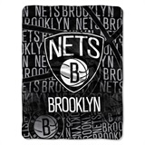 "Brooklyn Nets NBA ""Redux"" Micro Raschel Throw"