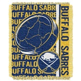 "Buffalo Sabres NHL ""Double Play"" Woven Jacquard Throw"