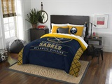 "Buffalo Sabres NHL ""Draft"" Full/Queen Comforter Set"