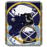 "Buffalo Sabres NHL ""Home Ice Advantage"" Woven Tapestry Throw"