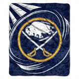 "Buffalo Sabres NHL ""Puck"" Sherpa Throw"