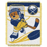 "Buffalo Sabres NHL ""Score Baby""Baby Woven Jacquard Throw"