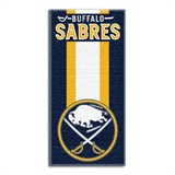 "Buffalo Sabres NHL ""Zone Read"" Beach Towel"