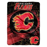 "Calgary Flames NHL ""Ice Dash"" Micro Throw"
