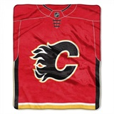 "Calgary Flames NHL ""Jersey"" Raschel Throw"