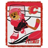 "Calgary Flames NHL ""Score Baby""Baby Woven Jacquard Throw"
