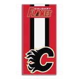 "Calgary Flames NHL ""Zone Read"" Beach Towel"