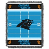 "Carolina Panthers NFL ""Field"" Baby Woven Jacquard Throw"