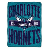 "Charlotte Hornets NBA ""Clear Out"" Micro Raschel Throw"