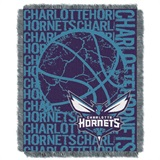"Charlotte Hornets NBA ""Double Play"" Woven Jacquard Throw"
