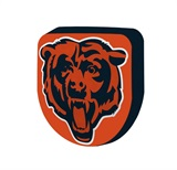 Chicago Bears NFL Cloud Pillow