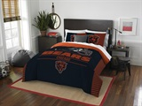 "Chicago Bears NFL ""Draft"" Full/Queen Comforter Set"