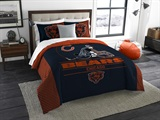 "Chicago Bears NFL ""Draft"" King Comforter Set"