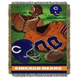 "Chicago Bears NFL ""Vintage"" Woven Tapestry Throw"