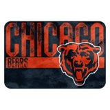 "Chicago Bears NFL ""Worn Out"" Bath Mat"