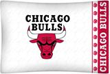Chicago Bulls Micro Fiber Pillow Case Logo