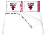 Chicago Bulls Micro Fiber Sheet Set King
