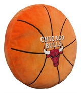 Chicago Bulls NBA Basketball Shaped 3D Pillow