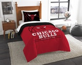 "Chicago Bulls NBA ""Reverse Slam"" Twin Comforter Set"