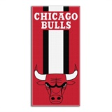 "Chicago Bulls NBA ""Zone Read""  Beach Towel"