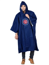 Chicago Cubs MLB Deluxe Poncho