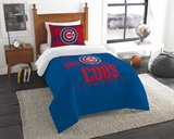 "Chicago Cubs MLB ""Grand Slam"" Twin Comforter Set"