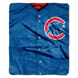 "Chicago Cubs MLB ""Jersey"" Raschel Throw"