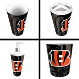 Cincinnati Bengals NFL 4 piece Bath Set