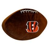 Cincinnati Bengals NFL  Football Shaped 3D Plush Pillow