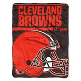 "Cleveland Browns NFL ""40 yard Dash"" Micro Raschel Throw"