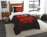 "Cleveland Browns NFL ""Draft"" Twin Comforter Set"