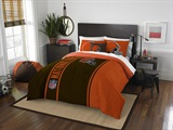 Cleveland Browns NFL Full Applique Comforter Set