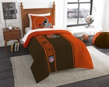 Cleveland Browns NFL Twin Applique Comforter Set