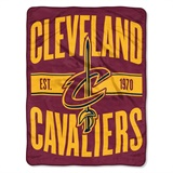 "Cleveland Cavaliers NBA ""Clear Out"" Micro Raschel Throw"