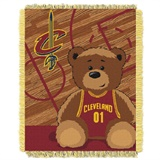 "Cleveland Cavaliers NBA ""Half-Court"" Baby Woven Jacquard Throw"