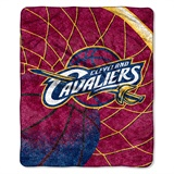 "Cleveland Cavaliers  NBA ""Reflect"" Sherpa Throw"