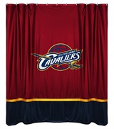 Cleveland Cavaliers Sidelines Shower Curtain