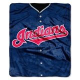 "Cleveland Indians MLB ""Jersey"" Raschel Throw"