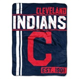 "Cleveland Indians MLB ""Walk Off"" Micro Raschel Throw"