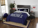 "Colorado Rockies MLB ""Grand Slam"" FullQueen Comforter Set"