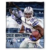 "Dallas Cowboys NFL ""Dez Bryant"" Players HD Silk Touch Throw"