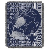 "Dallas Cowboys NFL ""Double Play"" Woven Jacquard Throw"