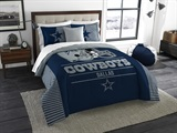 "Dallas Cowboys NFL ""Draft"" King Comforter Set"