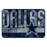 "Dallas Cowboys NFL ""Worn Out"" Bath Mat"