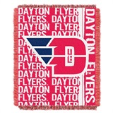 "Dayton Fliers NCAA ""Double Play"" Woven Jacquard Throw"