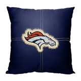 Denver Broncos NFL Letterman Pillow