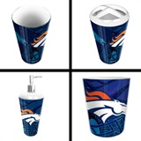Denver Broncos  NFL 4 piece Bath Set