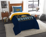 "Denver Nuggets NBA ""Reverse Slam"" Twin Comforter"